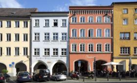 Geschäftshäuser Marienplatz Wasserburg am Inn