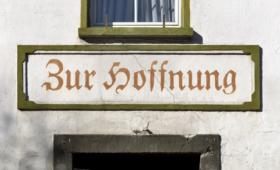 Motto für 2021: Zur Hoffnung (Alpen/Niederrhein)